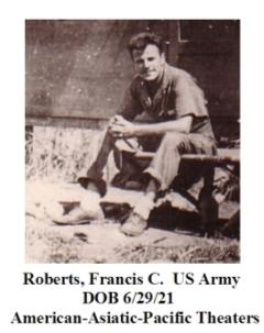 Roberts, Francis C.