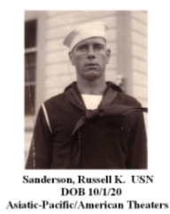 Sanderson, Russell K.