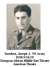 Sarofeen, Joseph J.