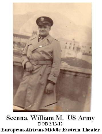 Scenna, William M.