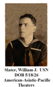 Slater, William J.