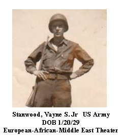 Stanwood, Vaynes S. JR