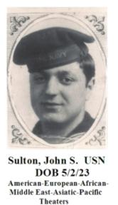 Sulton, John S.