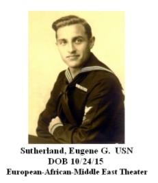 Sutherland, Eugene G.