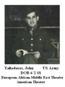 Taliadoros, John
