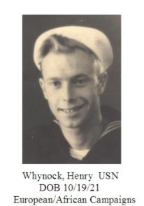 Whynock, Henry