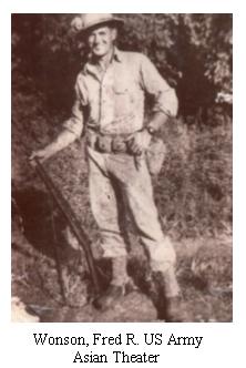 Wonson, Fred R.
